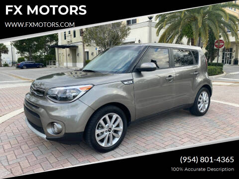 2019 Kia Soul for sale at FX MOTORS in Margate FL
