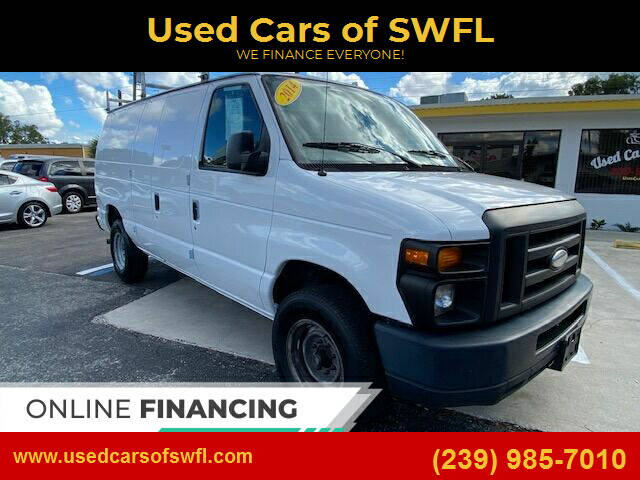 2014 Ford E-Series Cargo for sale at Used Cars of SWFL in Fort Myers FL