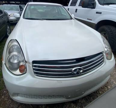 2006 Infiniti G35 for sale at Ody's Autos in Houston TX