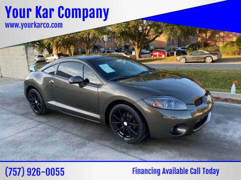 2011 Mitsubishi Eclipse for sale at Your Kar Company in Norfolk VA