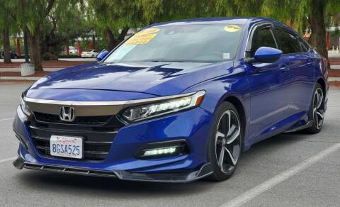 2018 Honda Accord for sale at ALL CREDIT AUTO SALES in San Jose CA