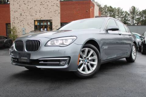2014 BMW 7 Series for sale at Atlanta Unique Auto Sales in Norcross GA