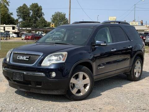 2007 GMC Acadia for sale at Bryans Car Corner in Chickasha OK