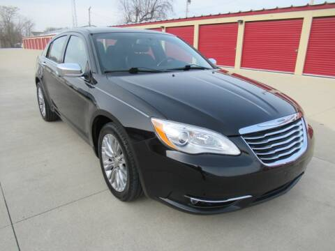 2012 Chrysler 200 for sale at Perfection Auto Detailing & Wheels in Bloomington IL