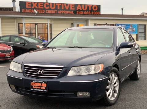 2007 Hyundai Azera for sale at Executive Auto in Winchester VA