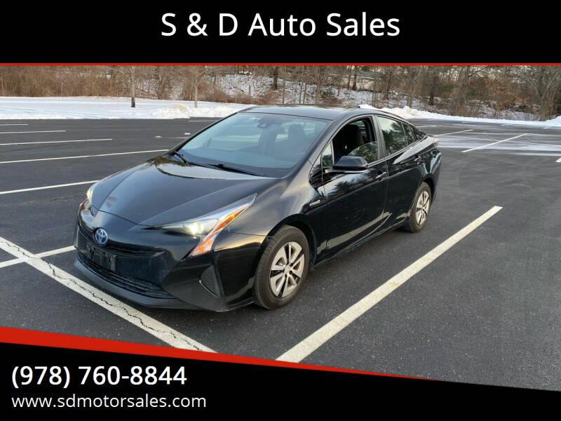 2017 Toyota Prius for sale at S & D Auto Sales in Maynard MA