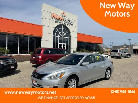 2013 Nissan Altima for sale at New Way Motors in Ferndale MI