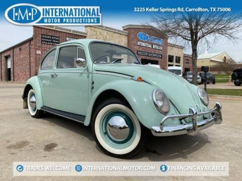 1965 Volkswagen Beetle for sale at International Motor Productions in Carrollton TX
