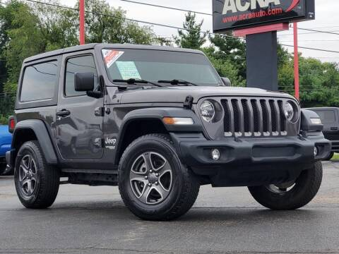 2018 Jeep Wrangler for sale at BuyRight Auto in Greensburg IN