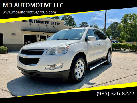 2012 Chevrolet Traverse for sale at MD AUTOMOTIVE LLC in Slidell LA