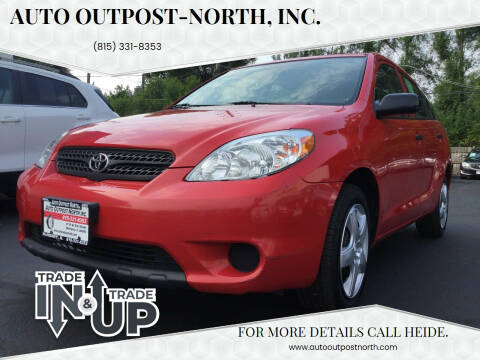 2008 Toyota Matrix for sale at Auto Outpost-North, Inc. in McHenry IL