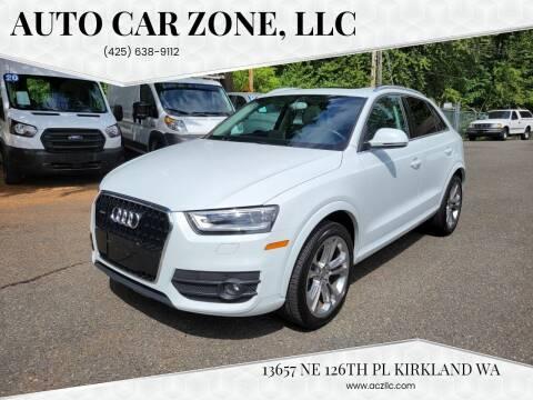 2015 Audi Q3 for sale at Auto Car Zone, LLC in Kirkland WA