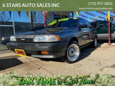 1989 Toyota Camry for sale at 6 STARS AUTO SALES INC in Chicago IL