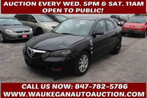2007 Mazda MAZDA3 for sale at Waukegan Auto Auction in Waukegan IL