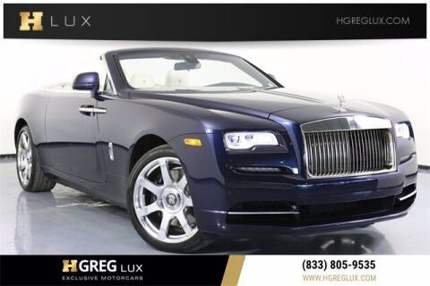 2019 Rolls-Royce Dawn for sale at HGREG LUX EXCLUSIVE MOTORCARS in Pompano Beach FL