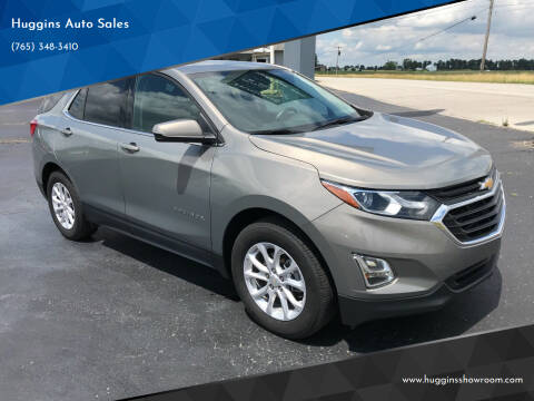2018 Chevrolet Equinox for sale at Huggins Auto Sales in Hartford City IN