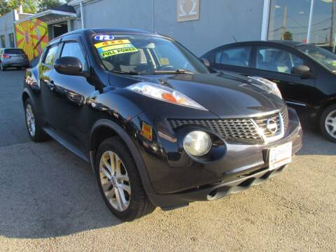 2012 Nissan JUKE for sale at Omega Auto & Truck Center, Inc. in Salem MA
