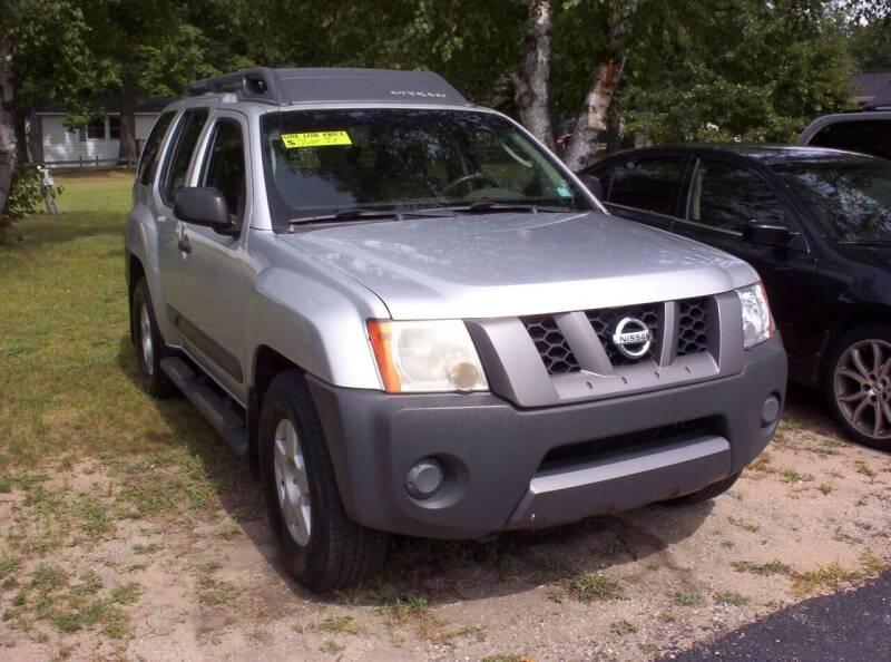 2006 Nissan Xterra for sale at LAKESIDE MOTORS LLC in Houghton Lake MI