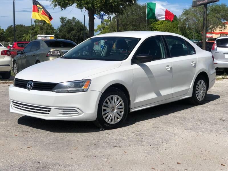 2012 Volkswagen Jetta for sale at Pro Cars Of Sarasota Inc in Sarasota FL