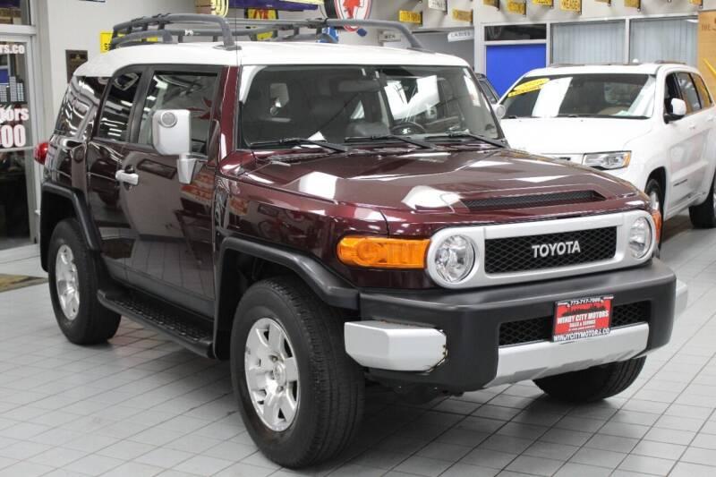 2007 Toyota FJ Cruiser for sale at Windy City Motors in Chicago IL
