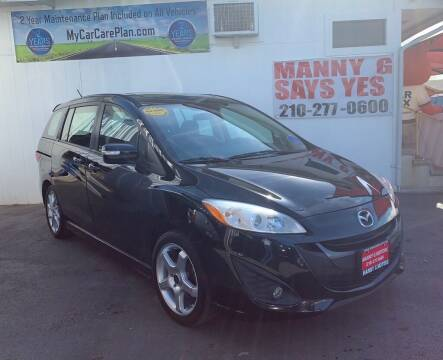 2013 Mazda MAZDA5 for sale at Manny G Motors in San Antonio TX