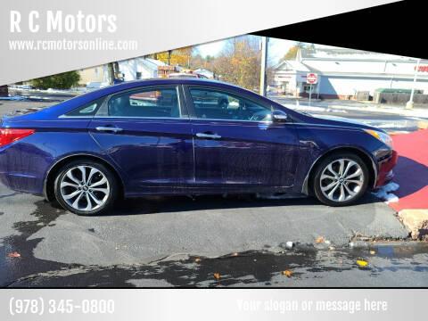 2013 Hyundai Sonata for sale at R C Motors in Lunenburg MA