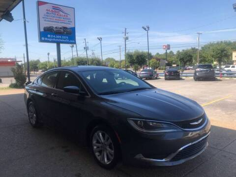 2015 Chrysler 200 for sale at Magic Auto Sales - Cars for Cash in Dallas TX