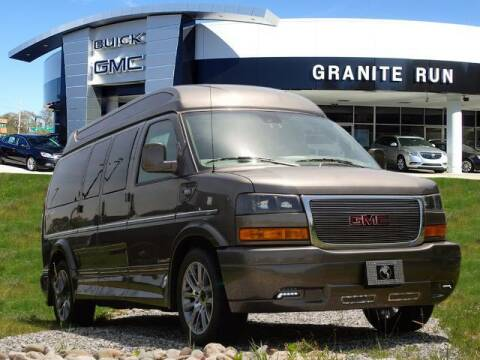 2021 GMC Savana Passenger for sale at GRANITE RUN PRE OWNED CAR AND TRUCK OUTLET in Media PA