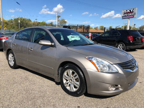 2012 Nissan Altima for sale at SKY AUTO SALES in Detroit MI