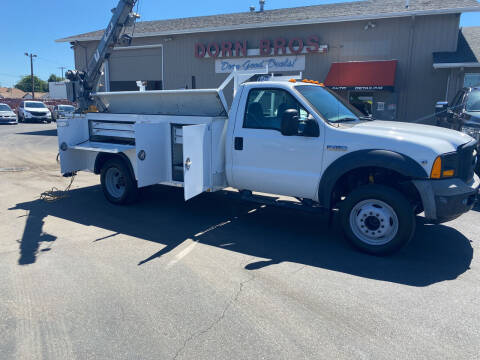 2006 Ford F-450 Super Duty for sale at Dorn Brothers Truck and Auto Sales in Salem OR