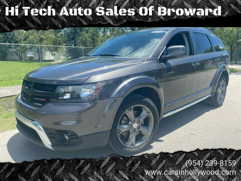 2016 Dodge Journey for sale at Hi Tech Auto Sales Of Broward in Hollywood FL