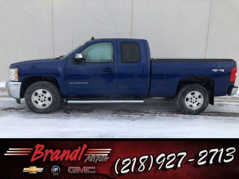 2013 Chevrolet Silverado 1500 for sale at Brandl GM in Aitkin MN