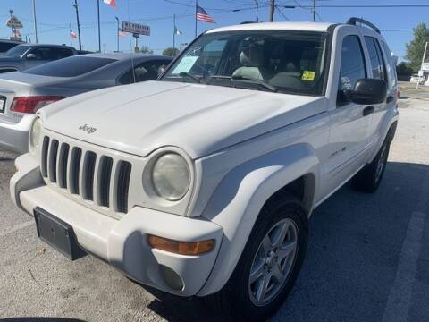 2003 Jeep Liberty for sale at The Kar Store in Arlington TX
