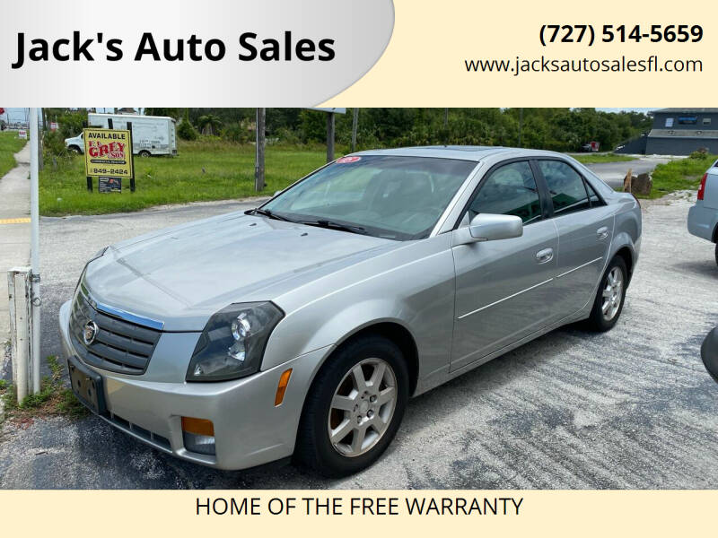2005 Cadillac CTS for sale at Jack's Auto Sales in Port Richey FL