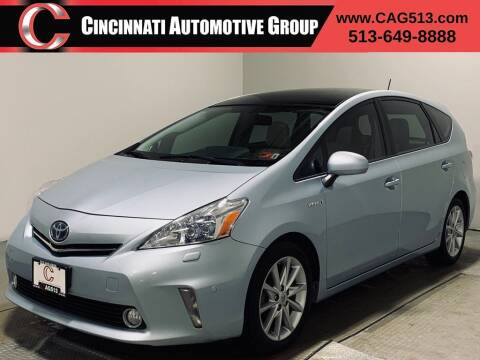 2012 Toyota Prius v for sale at Cincinnati Automotive Group in Lebanon OH