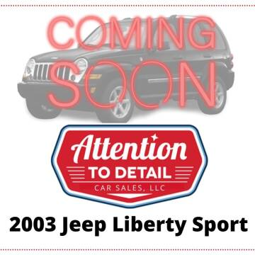 2003 Jeep Liberty for sale at Attention to Detail - Car Sales, LLC in Ogden UT