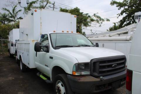 2003 Ford F-450 Super Duty for sale at Truck and Van Outlet in Miami FL