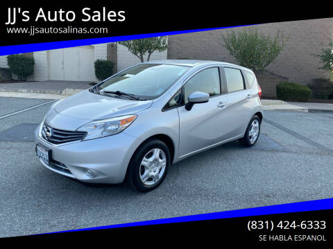 2015 Nissan Versa Note for sale at JJ's Auto Sales in Salinas CA