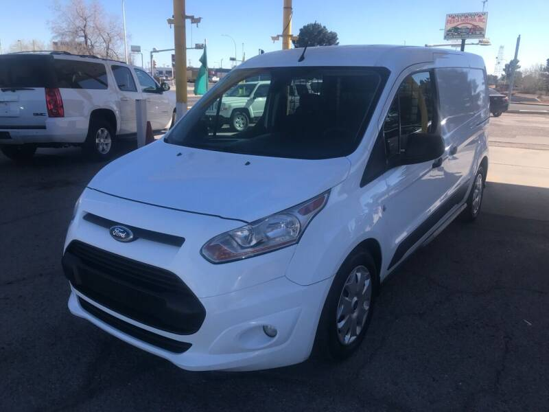 2016 Ford Transit Connect Cargo for sale at Fiesta Motors Inc in Las Cruces NM
