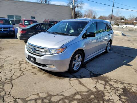 2012 Honda Odyssey for sale at MOE MOTORS LLC in South Milwaukee WI
