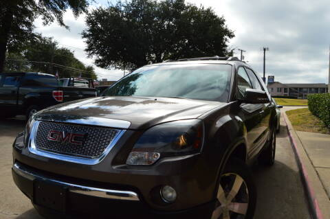 2010 GMC Acadia for sale at E-Auto Groups in Dallas TX