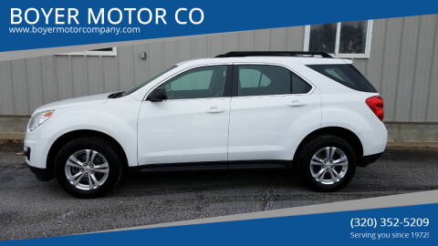 2011 Chevrolet Equinox for sale at BOYER MOTOR CO in Sauk Centre MN