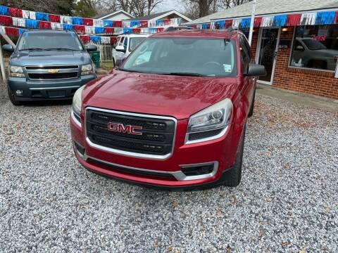 2014 GMC Acadia for sale at American Auto in Rayville LA