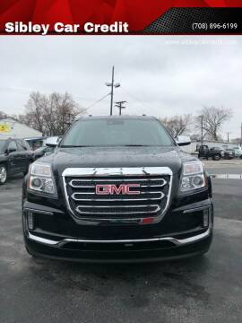 2016 GMC Terrain for sale at Sibley Car Credit in Dolton IL