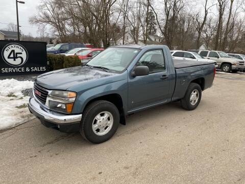 2006 GMC Canyon for sale at Station 45 Auto Sales Inc in Allendale MI