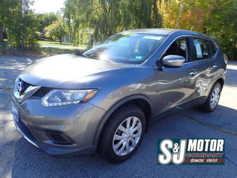 2015 Nissan Rogue for sale at S & J Motor Co Inc. in Merrimack NH