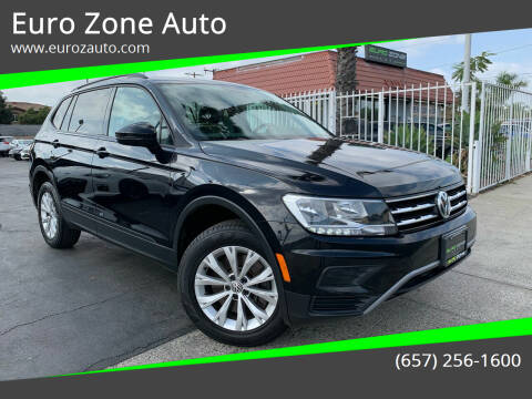 2018 Volkswagen Tiguan for sale at Euro Zone Auto in Stanton CA