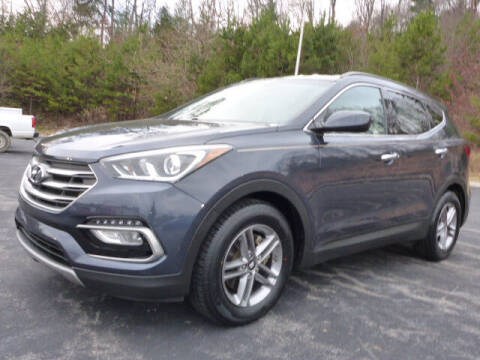 2017 Hyundai Santa Fe Sport for sale at RUSTY WALLACE KIA OF KNOXVILLE in Knoxville TN