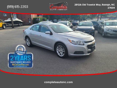 2015 Chevrolet Malibu for sale at Complete Auto Center , Inc in Raleigh NC