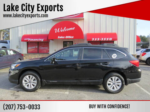 2015 Subaru Outback for sale at Lake City Exports - Lewiston in Lewiston ME